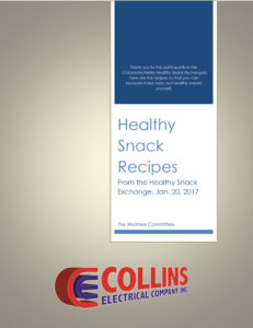 From the Healthy Snack Exchange, Jan. 20, 2017