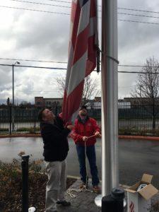 Jaime Nunez and Scott Smith - Replacing Metro Flag 20170118