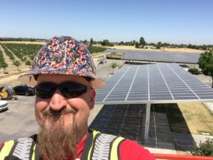 Brian Dow at Newman Solar Lights (2)