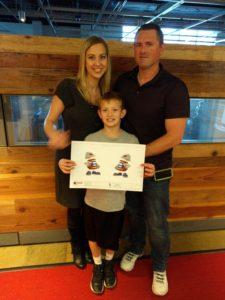 Corporate Front Desk and Design The Niemans Karyn, Jay and their son