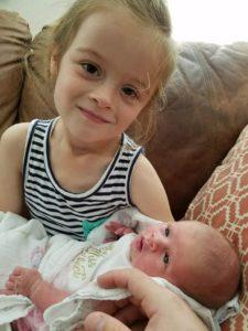 Harper Jane with Big Sissy
