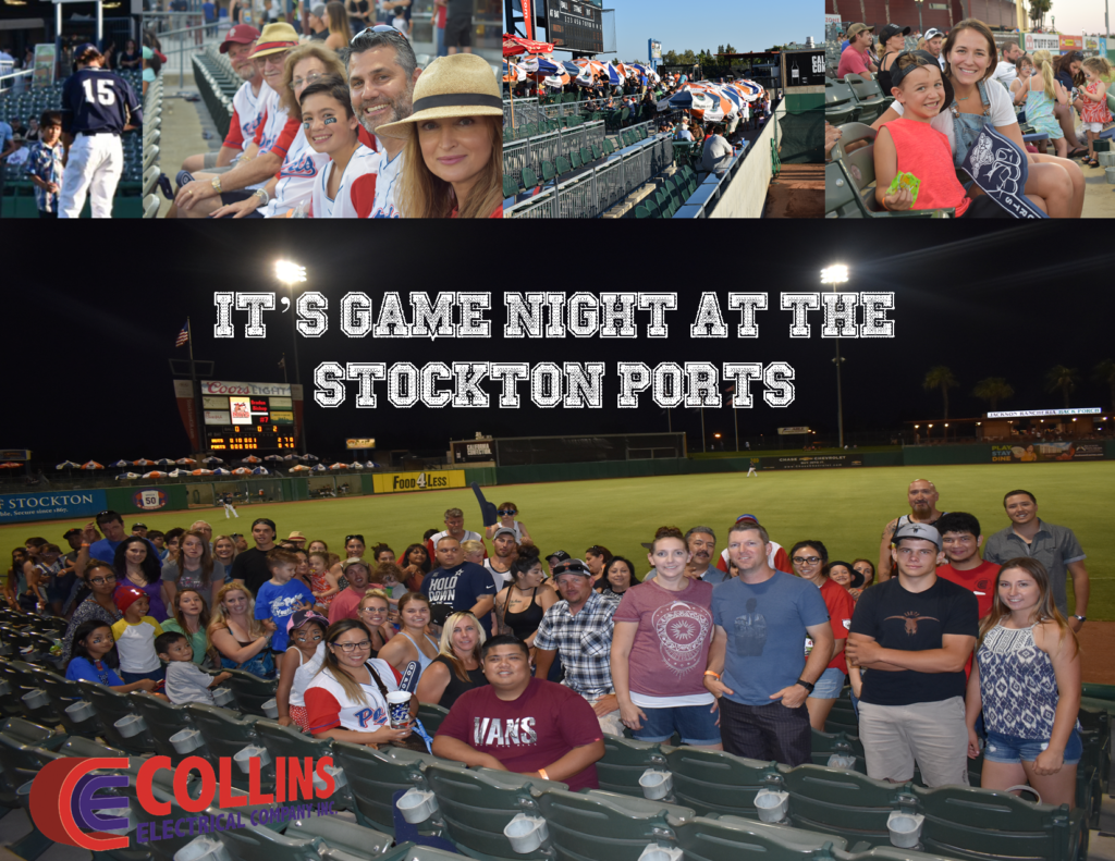 It's Game Night at the Stockton Ports 20170623